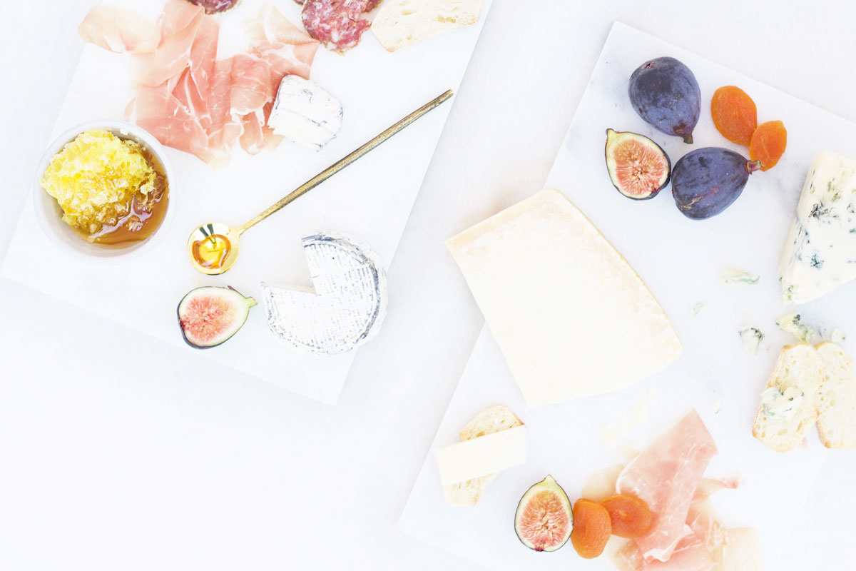 Marble DIY cheese board
