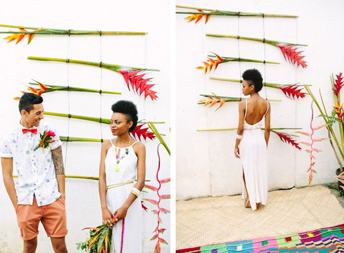 How to throw a stylish tropical-themed party